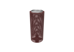 Perforated Steel Ash Urn
