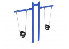 Elite Early Childhood T Swing - 1 Bay 2 Cantilever