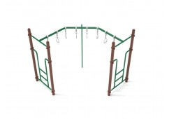 90-Degree Swinging Ring Ladder