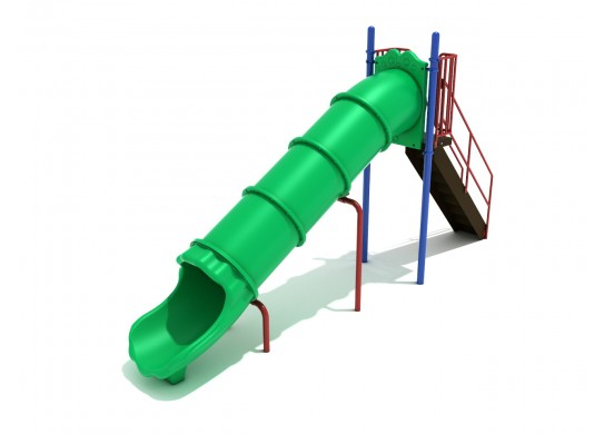 6 Foot Straight Tube Slide