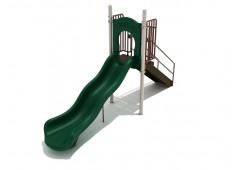 4 Foot Single Wave Slide