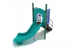 3 Foot Single Right Turn Slide