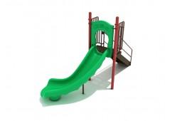 4 Foot Single Right Turn Slide