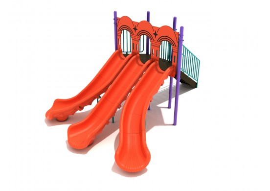 5 Foot Triple Sectional Split Slide