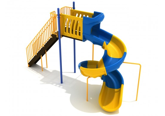 8 Foot Sectional Spiral Slide