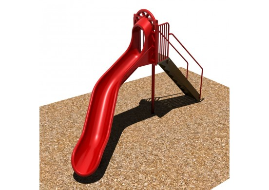 6 feet high Curved Sectional Slide