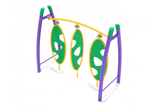 Curved Post Triple Wing Climber