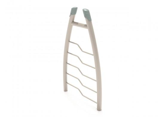 Curved Post Bent Rung Vertical Ladder