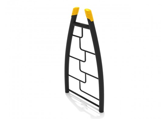 Curved Post Maze Rung Vertical Ladder
