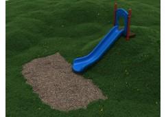 5 Foot Single Straight Embankment Slide