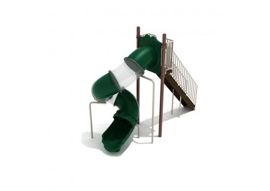 8 Foot Spiral Tube Slide
