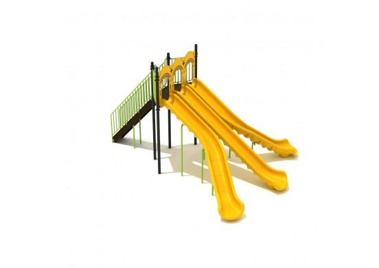 8 Foot Triple Sectional Split Slide