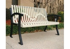 Casino Ribbed Bench