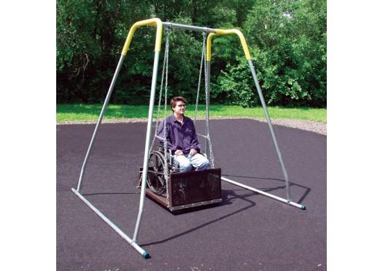 8 feet high Modern Bipod Wheelchair Swing