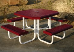 Infinity Portable Frame Octagon Picnic Table