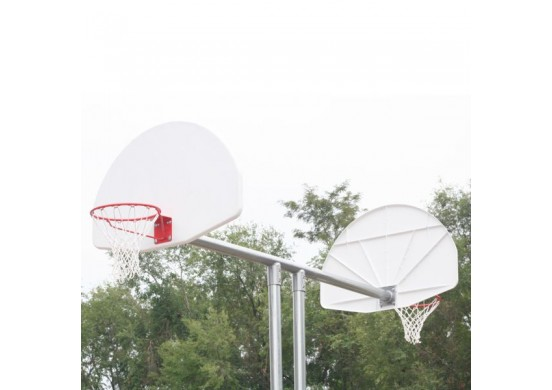 Double Basketball Backstop