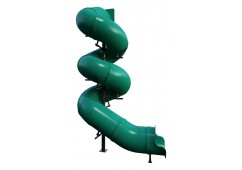16 feet high 810 Degree Tube Slide