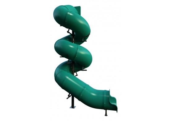 16 feet high 810 Degree Tube Slide