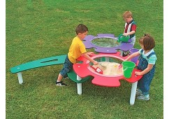 Tot Town Double Sand & Water Table