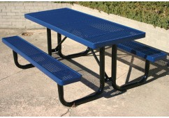 UltraLeisure Expanded Portable Frame Rectangle Picnic Table