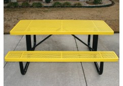 UltraLeisure Perforated Portable Frame Rectangle Picnic Table