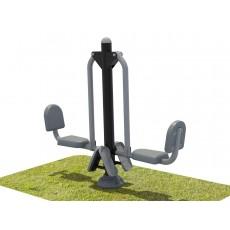 Double Station Leg Press
