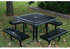Classic Portable Frame Square Picnic Table