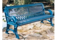 Villa Expanded Steel Bench