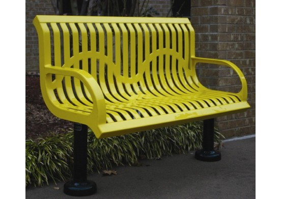 Wingline Ribbed Bench