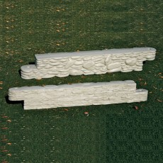 Stone Border 4 feet long x 8 inches high