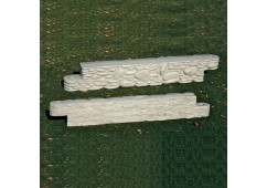 Stone Border 4 feet long x 8 inches high