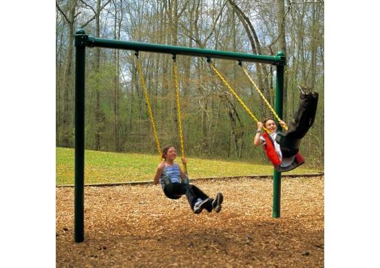 8 feet high Regal Single Post Swing