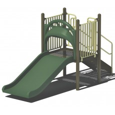 3 feet high Double Wide Slide