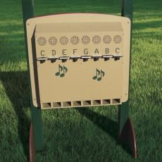 Freestanding Piano Panel