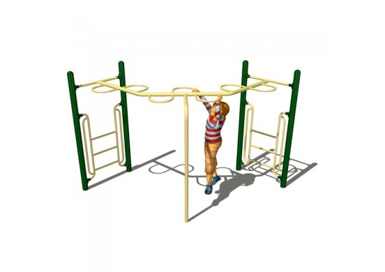 90 Degree Loop Rung Overhead Climber