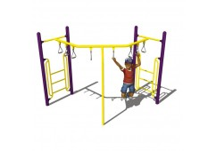 90 Degree Trapeze Ring Overhead Climber