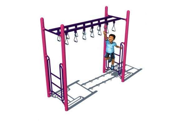 Double Trapeze Overhead Climber
