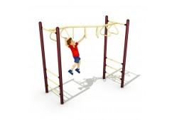 Zig-Zag Tri-Rung Overhead Climber