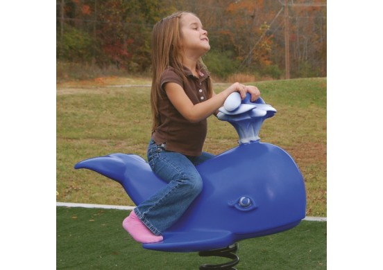 Wally the Whale Spring Rider