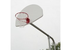 Extended Basketball Backstop