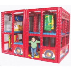 Tot Town Contained Play Fire Engine