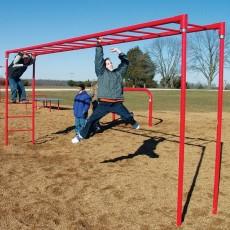Horizontal Fitness Ladder