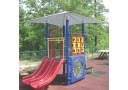 Play System Mounted Shade Structure