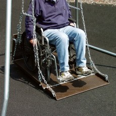 Wheelchair Swing Platform