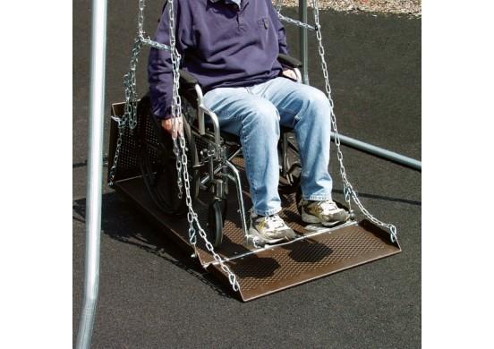 Wheelchair Swing Platform