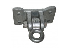 4-Hole Flat Ductile Iron Swing Hanger