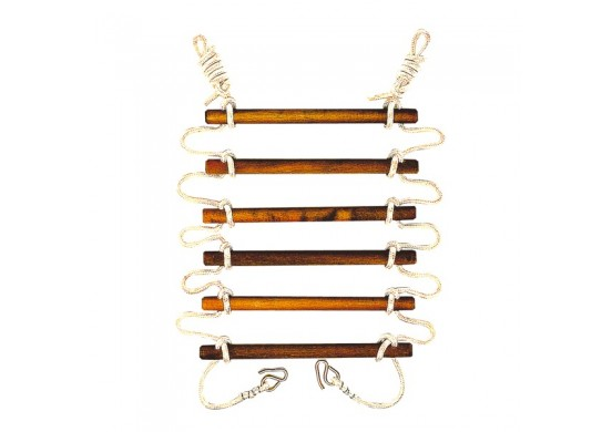 18 inch Wide Heavy Duty Rope Ladder