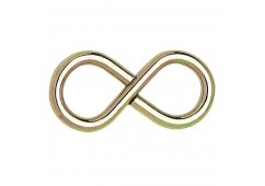 Zinc Plated Figure 8 Hook