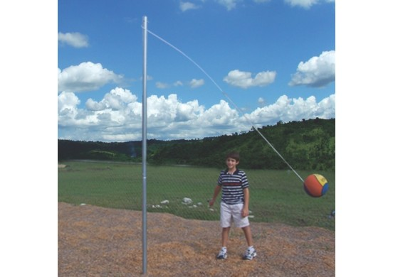 Tether Ball Post and Ball Set
