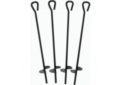 4-Pack Tie Out Stakes